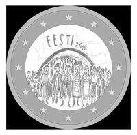 VHK 10. klassi õpilase Birgit Raidna töö valiti välja laulupeo 150. aastapäevale pühendatud 2 eurose mälestusmündi kujunduskonkursil. Kõik Birgiti poolt hääletama!