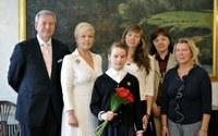 Evelin Ilves tunnustas noori sportlasi! Õnnitleme  Elisabeth Egelit!