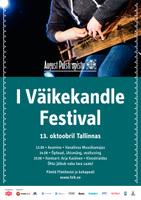 I Väikekandle festival 13. oktoobril Tallinnas