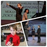 Martin- Heimar Melsas edukas juba kolmandal rahvusvahelisel konkursil!