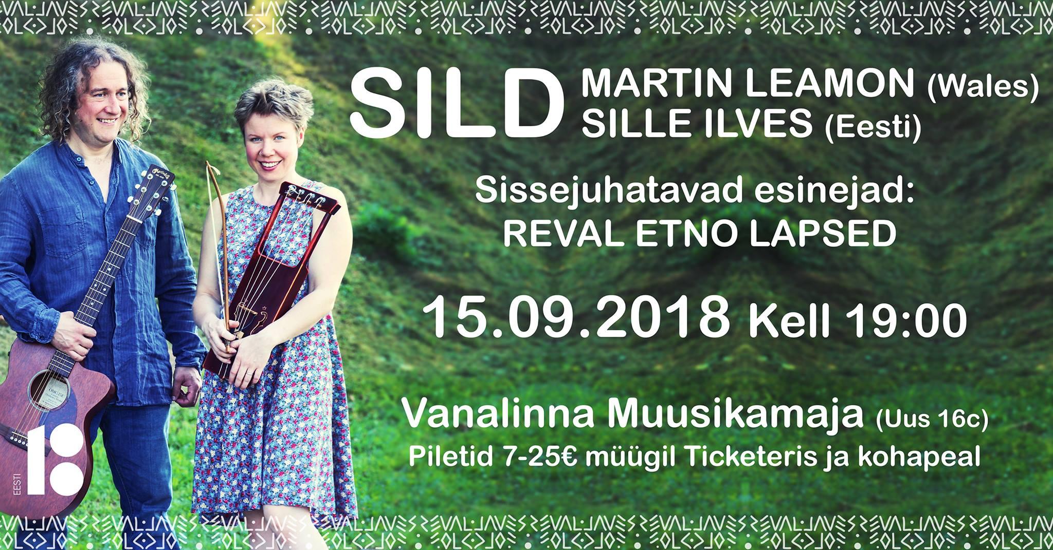 15. septembril Muusikamajas Reval Folk: SILD