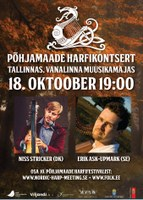 Taani ja Rootsi harfimängijad Muusikamajas