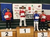 Kolmas koht karatevõistlusel