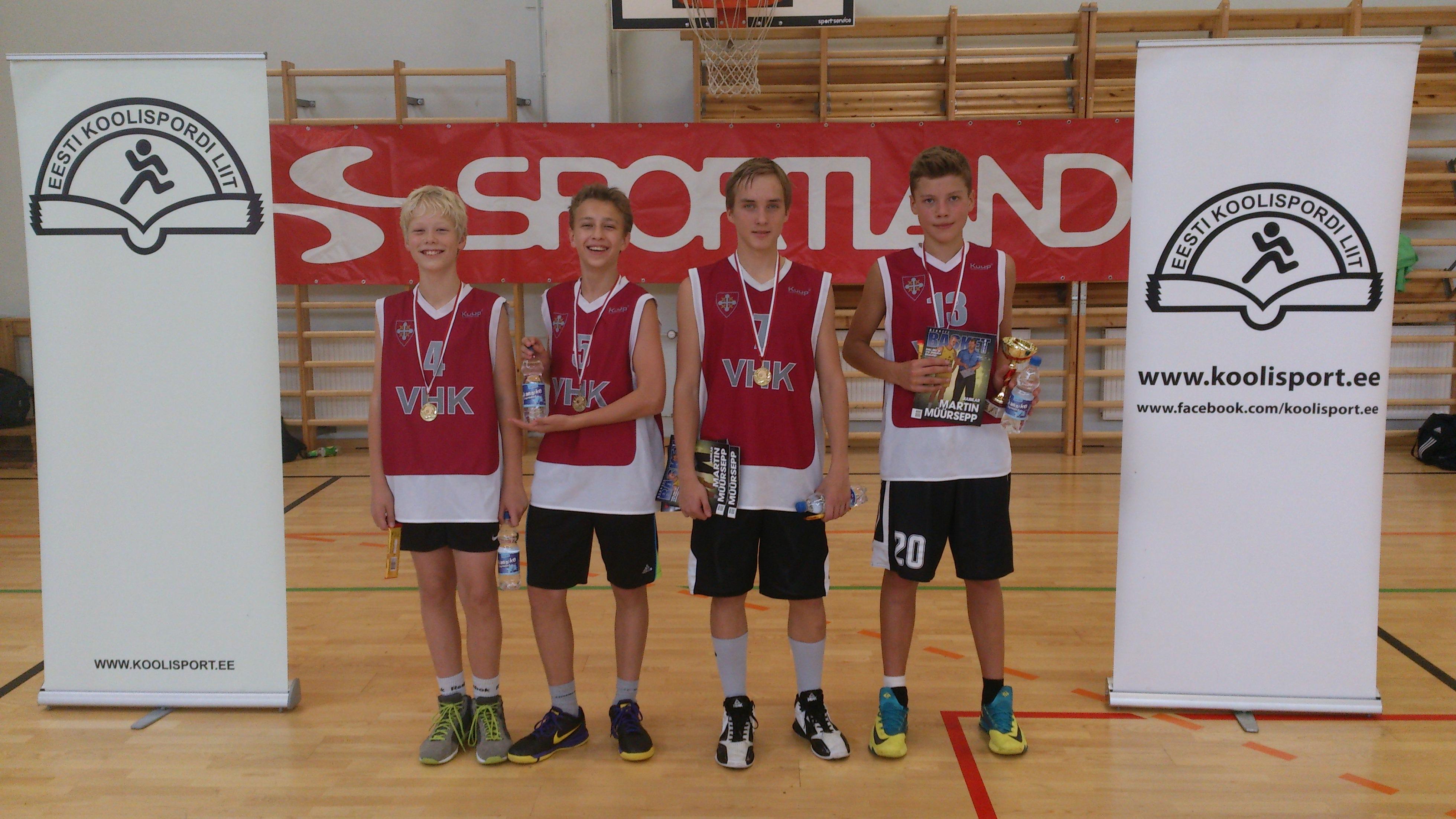 Sportland 3x3 korvpallisarja Tallinna etapil mõlemad poiste vanuseklasside võidud VHK korvpallipoistele!