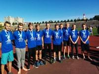 VHK põhikooli poisid Tallinna koolinoorte meistrid 10 x 60 m teatejooksus!